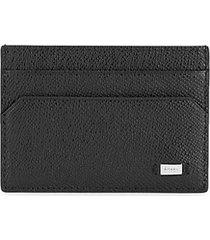 money clip leather card case