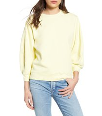 women's agolde thora sweatshirt