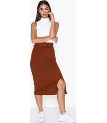 glamorous belted skirt midikjolar