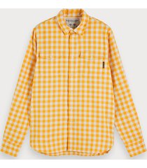scotch & soda workwear overhemd | regular fit