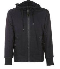 c.p. company c.p company hooded open sweatshirt