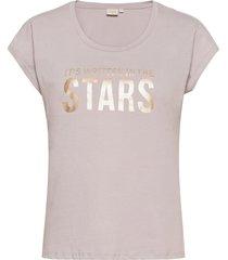 crloppie t-shirt t-shirts & tops short-sleeved beige cream