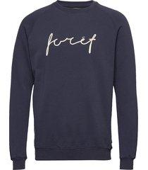 track sweatshirt - tan sweat-shirt trui blauw forét