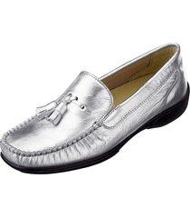 loafers naturläufer silverfärgad