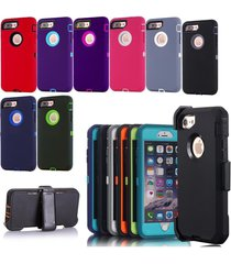 shockproof defender case (fits otterbox) iphone 6s 6s+ 6+ 7 plus pick new colors