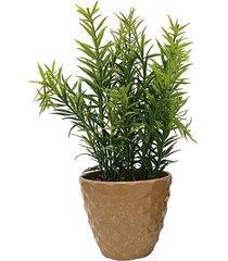 arranjo plantas le com cachepot melamina 33cm modelo 1