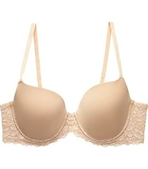 natori renew full fit contour bra, women's, beige, size 32h natori