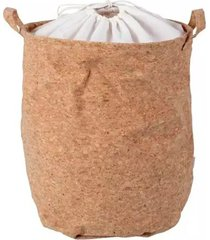 cesto de roupa le cortiça com alça 35x45cm