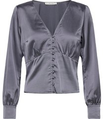 anf womens wovens blouse lange mouwen abercrombie & fitch