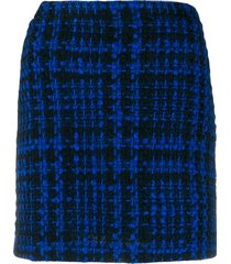 andamane bertha tweed skirt - black
