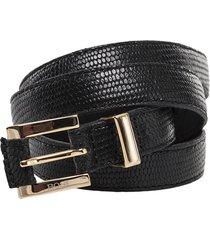 cinturón 616 negro bosi
