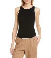 women's rag & bone kishi seamless rib sweater tank