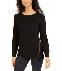 ideology side-zipper top, created for macy's