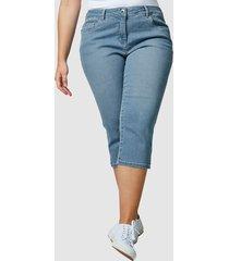 capri-jeans janet & joyce blue bleached