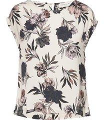 blouse ss t-shirts & tops short-sleeved rosemunde