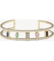 women's small cuff bracelet multi one size from sole society