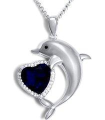 collar amor delfin casual plata arany joyas