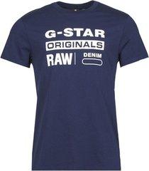 t-shirt korte mouw g-star raw graphic 8 r t ss