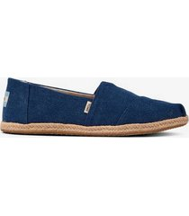 sneakers / espadrillos classic navy washed canvas