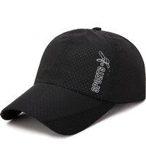 berretto da baseball per sport all'aria aperta da uomo cappellino in mesh traspirante per uomo