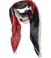 destin surl patterned scarf