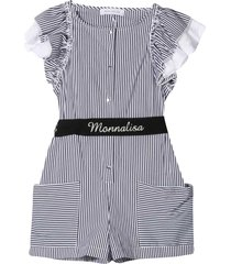 short jumpsuit with press