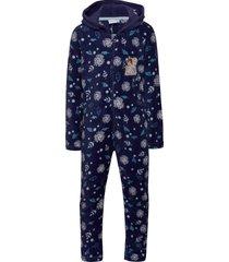 pyjama overall pyjamas sie jumpsuit blå disney
