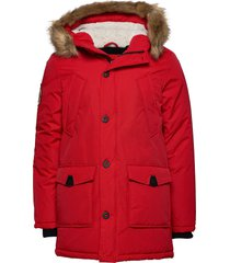 everest parka parka jas rood superdry