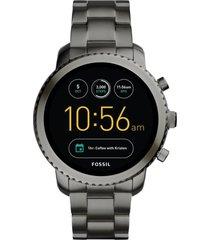 reloj fashion gris fossil