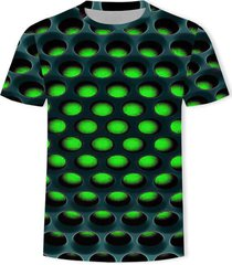 burning honeycomb briquette graphic tee