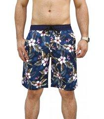 bermudas estampado andesland outdoor apparel