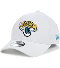 new era jacksonville jaguars white team classic 39thirty cap