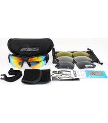 ess crossbow polarized military goggles 4 lens ballistic army sunglasses
