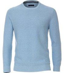 casa moda trui lichtblauw