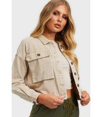 noisy may nmellen l/s short jacket jeansjackor