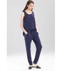 josie tees swing tank pajamas, women's, blue, size xs natori