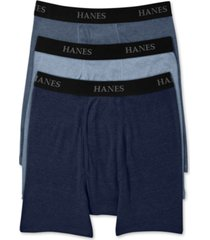 hanes men's big & tall 3-pk. boxer briefs