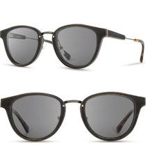 men's shwood ainsworth 48mm sunglasses -