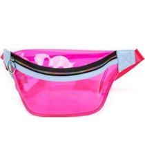 like dreams clear retro banana fanny pack