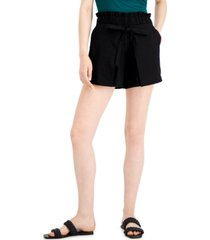 inc faux-wrap shorts, created for macy's