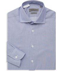 wrinkle free woven dress shirt