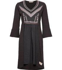 doris dress kort klänning grå odd molly