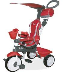 triciclo comfort ride top 3x1 vermelho xalingo