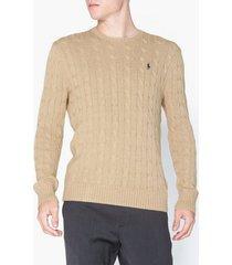 polo ralph lauren long sleeve sweater tröjor oatmeal