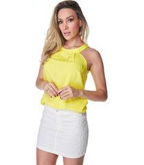 blusa celestine amarela