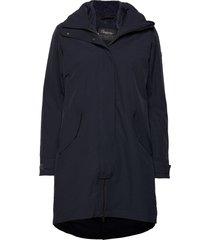 oslo 3in1 w coat parka lange jas jas blauw bergans