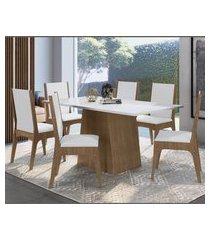 conjunto mesa com base e cadeiras ameixa negra lilies móveis