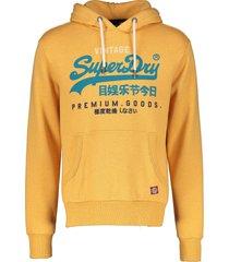 superdry sweater - slim fit - oker