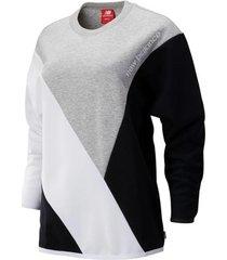 sweater new balance nbwt93500bk