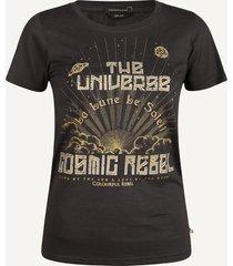 colourful rebel shirt / top zwart 9201